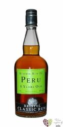 """Bristol Classic """" Reserve of Peru """" aged 8 years rum of Peru 40% vol.    0.70 l"""