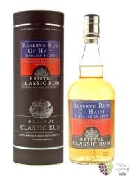 """Bristol Classic """" Haiti """" 2004 aged rum of Haiti 43% vol.    0.70 l"""