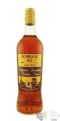 Borgoe 82 aged rum of Suriname 38% vol.    0.20 l