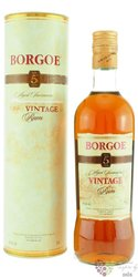 "Borgoe "" Vintage "" aged 5 years rum of Suriname 40% vol.    0.70 l"