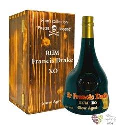 """Francois L´Ollonais """" Pirat Legeng limited edition """" slow aged caribbean rum 46% vol.    0.70 l"""