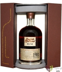 English Harbour 1981 aged 25 years vintage rum of Antigua 40% vol.    0.70 l