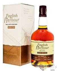 "English Harbour small batch no.001 "" Madeira cask finish "" rum of Antigua 46% vol.  0.70 l"