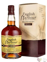 "English Harbour small batch no.001 "" Port cask finish "" rum of Antigua 46% vol.0.70 l"