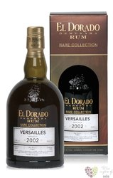 "El Dorado rare collection 2002 "" Versailles "" unique rum of Guyana 63% vol.  0.70 l"