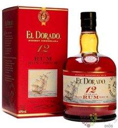 El Dorado 12 years old Guyayan rum by Demerara 40% vol. 0.70 l