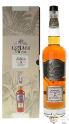 "Dzama vieux "" Cognac cask "" aged 5 years rum of Madagaskar 40% vol.  0.70 l"