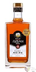 "Dzama prestige "" Noire "" gold rum of Madagaskar 40% vol.    0.70 l"