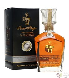 """Serrallés Don Q """" Grand aňejo """" aged Puerto Rican rum 40% vol.   0.70 l"""