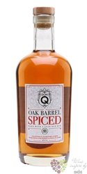 "Serrallés Don Q "" Oak barrel spiced "" aged Puerto Rican rum 45%0.70l"