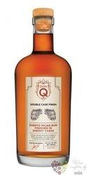 "Serrallés Don Q "" Double Wood Sherry cask "" aged Puerto Rican rum 41% vol.  0.70 l"