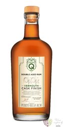 "Serrallés Don Q "" Double Wood Vermouth cask "" aged Puerto Rican rum 40% vol.  0.70 l"