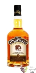 "Rhum Charrette vieux "" Traditional Vieilli en fut "" aged 3 years rum of Reunion40% vol.    0.70 l"