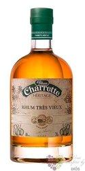 "Rhum Charrette "" Ambré "" aged rum of Reunion 40% vol.   1.00 l"