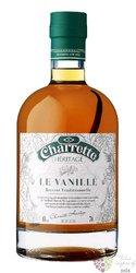 """Charrette """" le Vanillé """" flavoured Reunion rum 40% vol.  0.70 l"""