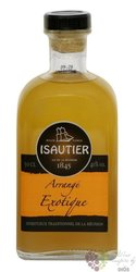 "Isautier agricole "" Arrangé Exotique "" flavored Reunion rum 40% vol.  0.50 l"
