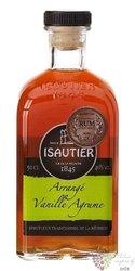 "Isautier "" Arrangé Vanille Agrume Vangassaye "" flavored Reunion rum 40% vol.  0.50 l"