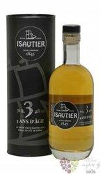 "Isautier agrcole vieux "" 3 ans "" aged rum of Reunion 40% vol.   0.70 l"
