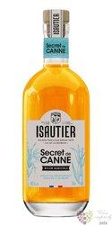 """Isautier """" Secred de Canne """" aged Reunion rum 40% vol.  0.70 l"""