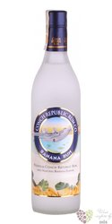"Conch republic "" Banana "" flavoured rum of American Virginia islands 21% vol.  0.70 l"