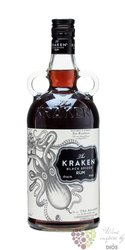 "Kraken "" Black spiced "" flavored rum of Trinidad & Tobago 40% vol.   0.70 l"