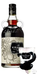 "Kraken "" Black spiced "" gift box flavored rum of Trinidad & Tobago 40% vol.   0.70 l"
