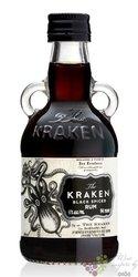 "Kraken "" Black spiced "" flavored rum of Trinidad & Tobago 40% vol.  0.05 l"