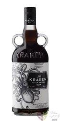 "Kraken "" Black spiced "" flavored rum of Trinidad & Tobago 40% vol.  1.00 l"