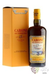 Caroni 1998 aged 15 years old aged rum of Trinidad 52% vol.    0.70 l