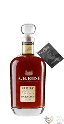 "A.H. Riise "" Family Reserve Solera 1838 "" Danish rum of Virginia islands 42% vol.    0.70 l"