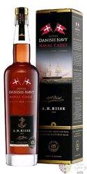 "A.H. Riise Royal Danish Navy "" Naval Cadet "" Caribbean rum 42% vol.  0.70 l"