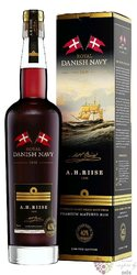 "A.H. Riise Royal Danish Navy "" Original 40 "" Caribbean rum 40% vol.  0.70 l"