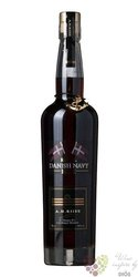 "A.H. Riise "" Royal Danish Navy "" Caribbean rum 40% vol.    0.35 l"