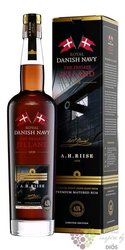 "A.H. Riise Royal Danish Navy "" Fregatten Jylland "" Virginia island rum 45% vol.  0.35 l"
