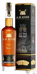 "A.H. Riise "" XO reserve 175 years anniversary "" gift box aged Caribbean rum 40%vol.    0.70 l"