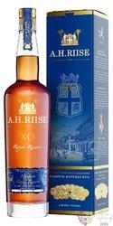"A.H. Riise "" XO Royal reserve Kong Haakon "" aged Caribbean rum 42% vol.    0.70l"