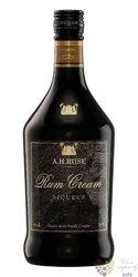 A.H. Riise rum & cream liqueur 20% vol.    0.70 l