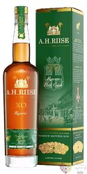 "A.H. Riise XO Reserve "" Porto cask finish "" ltd edition of Caribbean rum 45% vol.  0.70 l"
