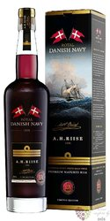 "A.H. Riise "" Royal Danish Navy overproof "" gift box Caribbean rum 55% vol.    0.70 l"