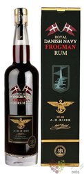 "A.H. Riise "" Royal Danish Navy Frogman batch. I "" Caribbean rum 58% vol.  0.70 l"