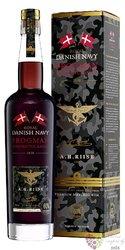 "A.H. Riise "" Royal Danish Navy Frogman batch. II "" Caribbean rum 60% vol.  0.70l"