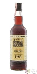 "Jeffersons 1785 "" Dark "" Extra fine rum of Antigua 40% vol.  0.70 l"
