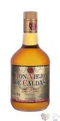 Viejo de Caldas aged 3 years Colombian rum 37.5% vol.  0.70 l