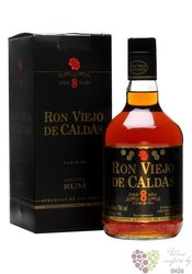 Viejo de Caldas aged 8 years Colombian rum 37.5% vol.  0.70 l