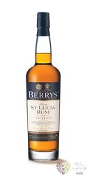 "Berry´s Own 1999 "" St.Lucia "" aged 11 years rum by Berry Bros & Rudd 46% vol.0.70 l"