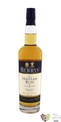 "Berry´s Own 2004 "" Haiti "" aged 9 years rum by Berry Bros & Rudd 46% vol.   0.70 l"
