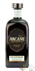 """Arcane """" Delicatissime """" golden agricole pure cane rum of Mauritius Island 41% vol.   0.70 l"""