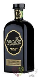 "Arcane "" Extraromas "" aged 12 years Grand Ambre rum of Mauritius 40% vol.   0.20 l"