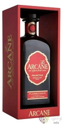 "Arcane "" Flamboyance "" aged rum of Mauritius 40% vol.   0.70 l"