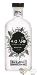 "Arcane "" Cane Crush "" white rum of Mauritius Island 43.8% vol.   0.70 l"